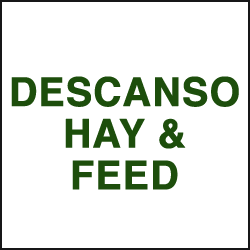 DESCANSO HAY & FEED and BULLSEYE FEED.