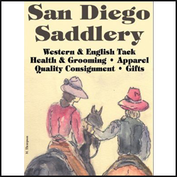 SAN DIEGO SADDLERY.