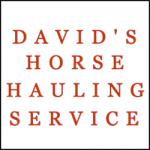 DAVID'S HORSE HAULING