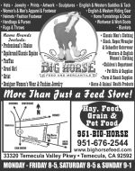 BIG HORSE FEED & MERCANTILE