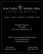 JOIE GATLIN / MORLEY ABEY SHOW JUMPING, INC.