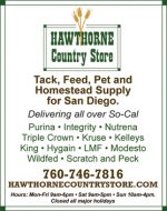 HAWTHORNE COUNTRY STORE – SANTEE